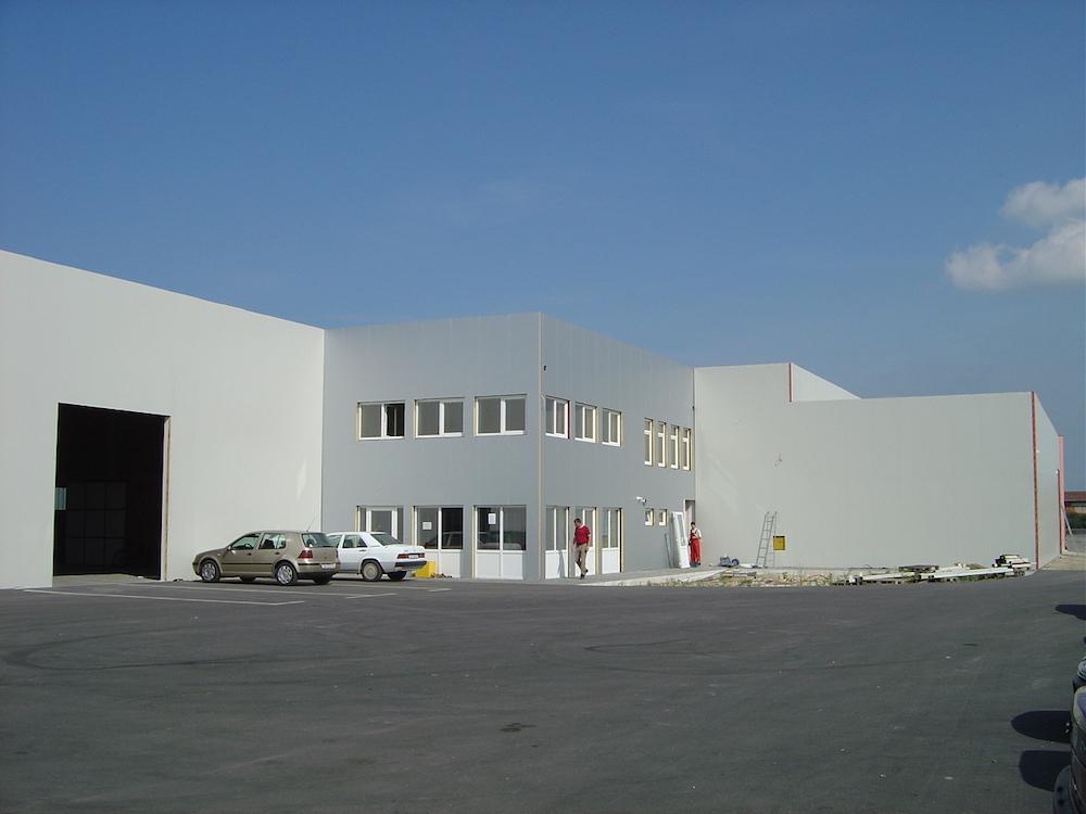 Izgradnja poslovnog centra «Trgošped» u Nedelišću – Međimurje